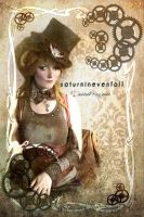 Steampunk Doll by saturninevenfall