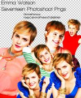 Emma Watson Seventeen Photoshoot Png by GimmeFamous