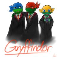 Gryffindor House by Colend