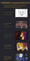 Commission Price List by DaffoDille