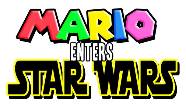 Mario Enters Star Wars by redgamer75