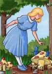 Alice in Wonderland - Classic Fairy Tales by ElainePerna