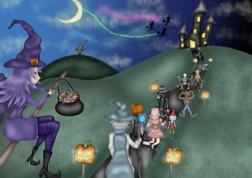 Welcome to the Halloween-Party! by Arqenloce