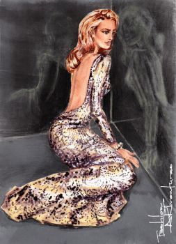 Blake Lively for Gucci Premiere Fragrance