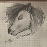 Look A HORSE  by Ailizerbee08