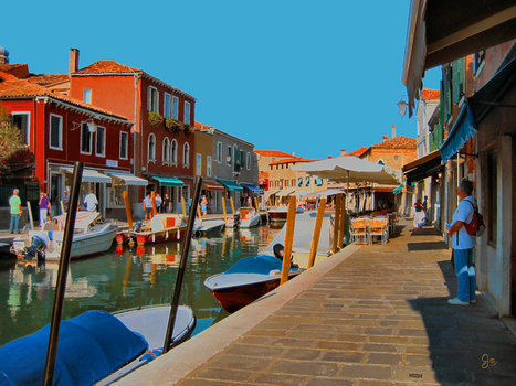 Murano Canal, a third perspective by JJPoatree