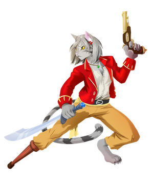 Commission - Captain Dart by pyrasterran