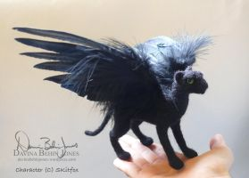 Winged Panther by FamiliarOddlings