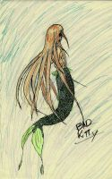 Mermaid for my lil sis by StygianRecluse