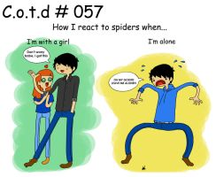 Cotd no. 057 - Itsy Bitsy Spider by ajchon