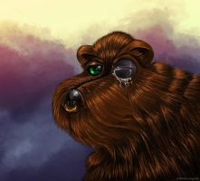 Black Eyed Bear by Neelai
