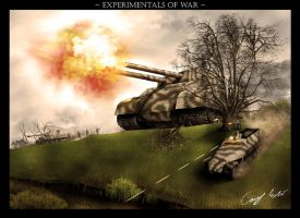 WW2 Super Tank by VonBrrr