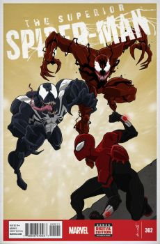 Superior Spiderman vs Venom and Carnage by dorets