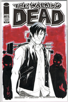 The Walking Dead 109 Sketch Cover: Daryl Dixon by Hodges-Art