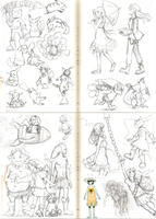 Early 2012 Sketchdump by Lubrian