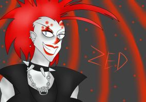 Zed - Punk Zombie by IcyhazardX