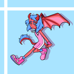Demon Baby-Style B by popinat