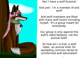 Ebesu's submission: Wolfsonas for Anti-wolf by TheLeetCasualGamer