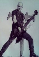 Trivium bassist - Paolo Gregoletto by Trix92