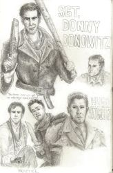 Inglourious Sketchbook by picklelova