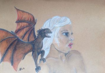 Mother of dragons by Moonenchantress1