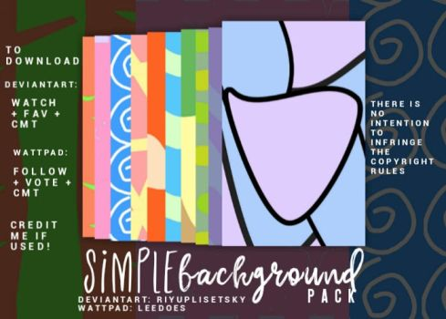 simple backgrounds pack by riyuplisetsky