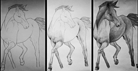 A photo of making A horse by JaneJanette