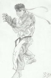 Ryu From Street Fighter by becmart03