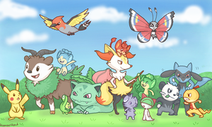 All My Pokemon