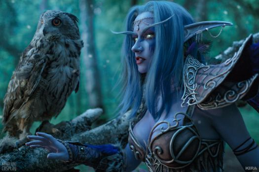 Tyrande Whisperwind - For the Wild by Narga-Lifestream