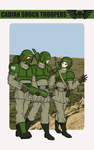 Cadian Shock Troopers by Reaprycon