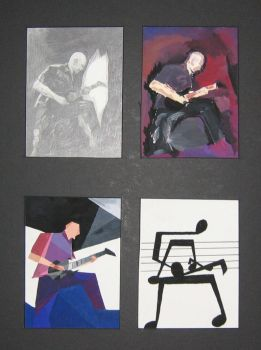 Four Panel - Guitarist: Ihsahn by Jharp
