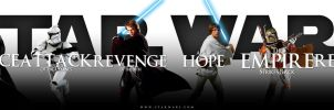 Star Wars saga - banner by AndrewSS7