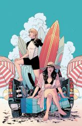 Betty and Veronica Variant Cover by BilquisEvely