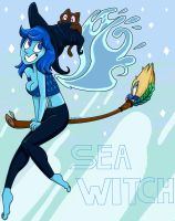 Lapis Sea Witch by slime-tiger