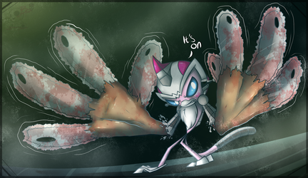 Ima's Razor Fingers: Oh It's On by BloodyPink-M