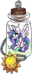 Celestia's Bottle by CutePencilCase