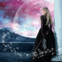 Music of stars ~ Personnal CD Cover by Mylene-C