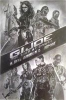 My sons GI Joe report cover by MrFixit741