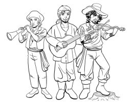 Gypsy Band by Rallase