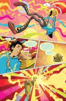 Doctor Fate #4 Interior by sonny123