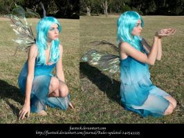 Blue Faery 14 by faestock