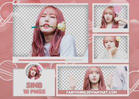[PNG PACK #540] Sinb - GFriend by fairyixing