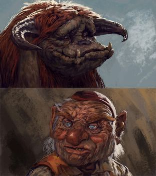 Stream sketching some Labyrinth dudes. by BMacSmith
