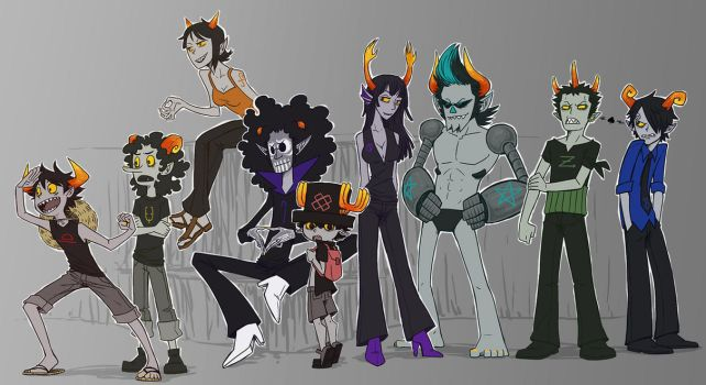 Troll Crew by SybLaTortue