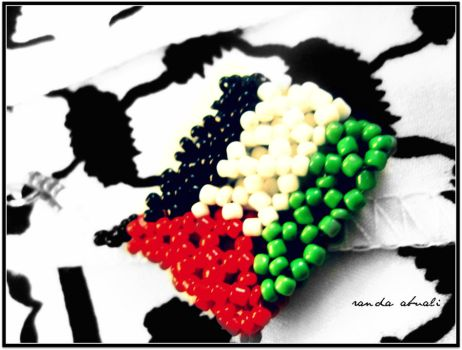 palestine flag by royaldoshi