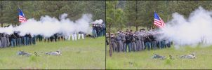 Volley Fire by mackilvane