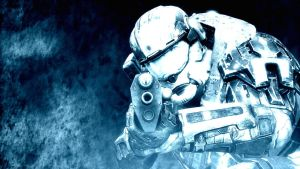 Halo: Reach - Frost by pizzagrenade