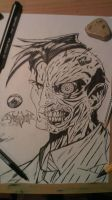 Two-Face Ink by FurkanHolmes