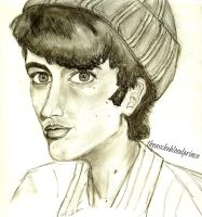 Mike Nesmith Portrait by theaschebloodprince